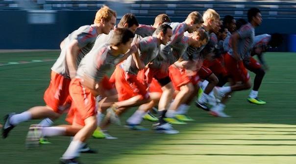 サッカー選手の有酸素性能力とYO-YOテスト